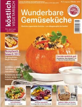 köstlich vegetarisch - Wunderbare Gemüseküche (Ausgabe 05/2013)