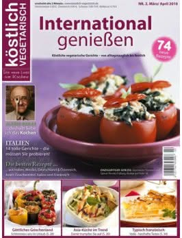 köstlich vegetarisch - International genießen (02/2010)