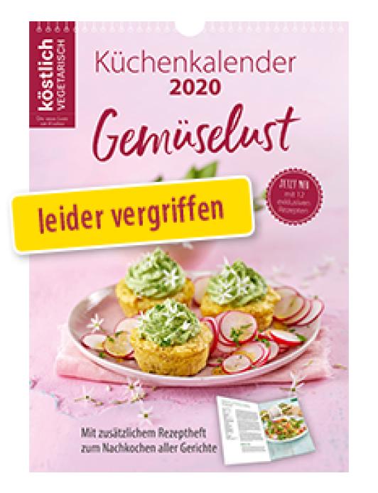 Jubiläums-Küchenkalender 2020<br> inkl. Rezeptheft