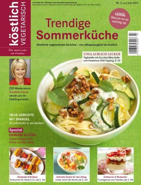 Trendige Sommerküche
