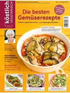 köstlich vegetarisch - Die besten Gemüserezepte (Ausgabe 04/2011)