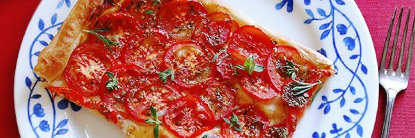 Tomatentarte aus der Provence