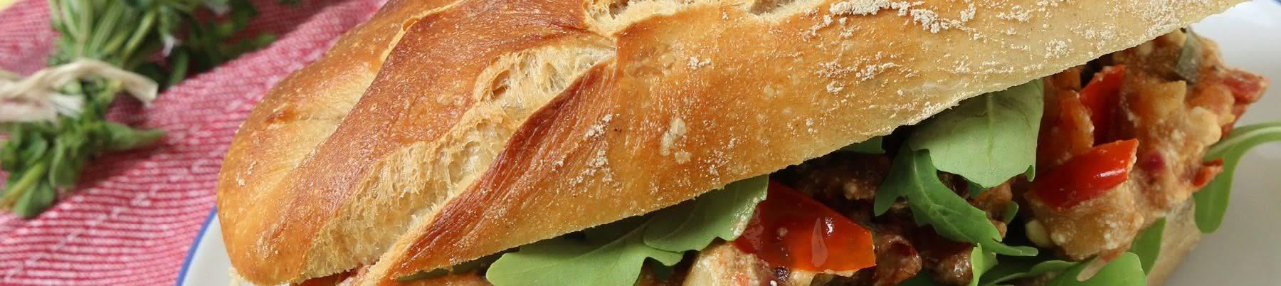 Sonniges Tomaten-Sandwich