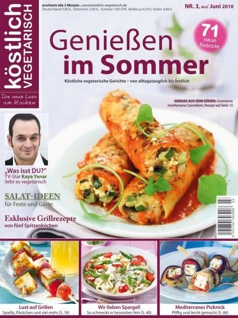 köstlich vegetarisch - Genießen im Sommer (03/2010)